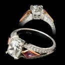 Cushion Cut Vintage Engagement Ring