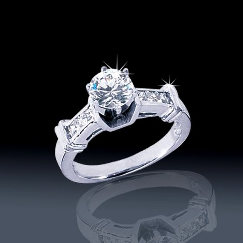 .92 tcw Classic Engagement Ring