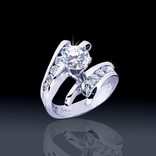 1 68 Tcw Amazing Engagement Ring