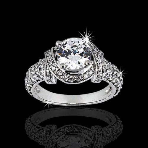 1.96 ctw Unique Engagement Ring