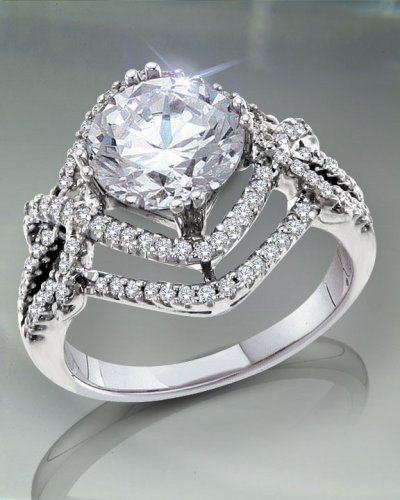 1.50 TCW Elegant Engagement Ring