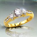.90 TCW Diamond Engagement Ring