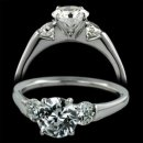 1.0 ctw Three Stone Engagement Ring