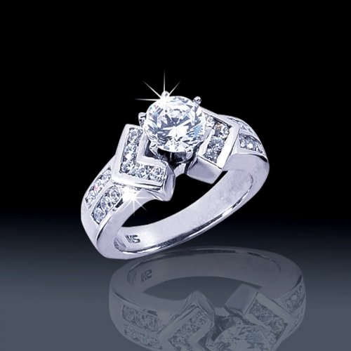 1 05 tcw Classy Engagement Ring [aenr1350] $3 390 00 JewelryByAlexis