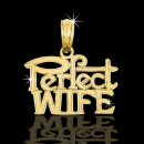 "14kt ""Perfect Wife"" Pendant"
