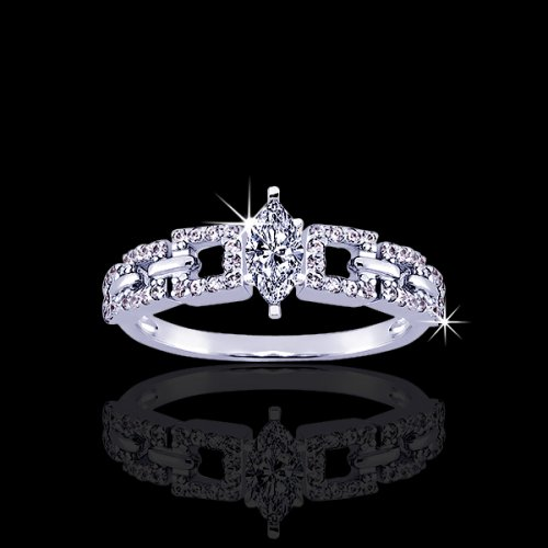 .85 tcw Unqiue Diamond Engagement Rings