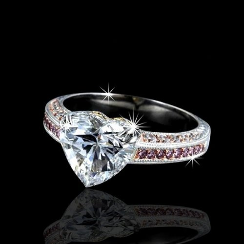unique shaped engagement rings