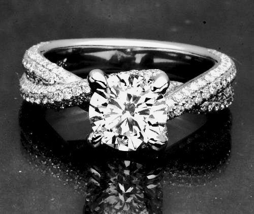 elegant 243 tcw engagement ring - Elegant Wedding Rings