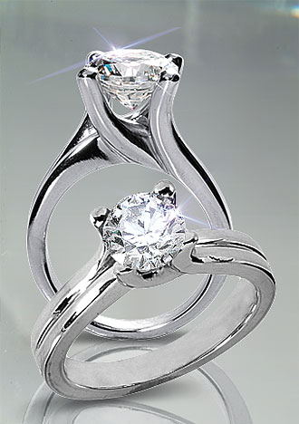 1 Carat Contemporary Solitaire